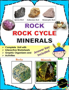 Rock, Rock Cycle and Minerals Unit