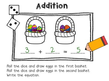 Spring Things {Addition and Subtraction Practice}