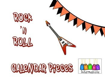 Rock and Roll Calendar Pieces