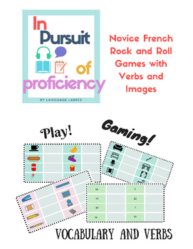 Rock and Roll Game: French Beginner Vocabulary with Pictures
