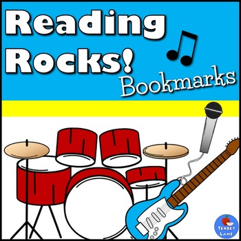 Rock and Roll Music Book Marks