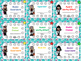 Rock and Roll Rock Star Theme Classroom Decor Punch Cards