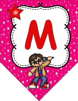 Rock and Roll Rock Star Themed Classroom Decor Welcome to __ Grade Banner