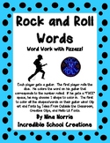 Rock and Roll Sight Words