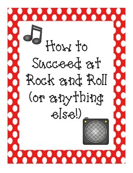 Rock and Roll Success Posters