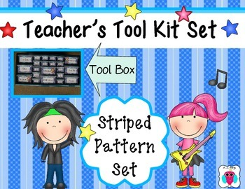 Rock and Roll Teacher's Tool Box Set #bestof2016sale