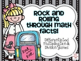 Rock and Rolling Through Math Facts: Multiplication and Division Games