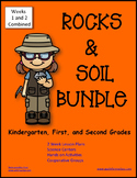 Rock and Soil Science Unit BUNDLE - Kindergarten First and