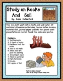 Rock and Soil Study (14 Hands- On  lessons)