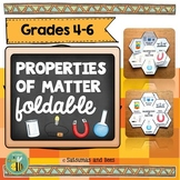 Properties of matter-Interactive Science Notebook foldable