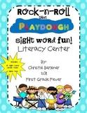 Rock-n-Roll Playdough Fun! Sight Word Center
