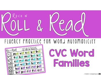 Rock n' Roll & Read {Fluency Practice for Word Automaticit