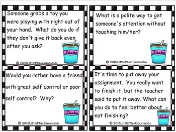 Rock n Roll Self Control Printable Game
