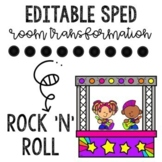 Rock'n'Roll- Sped Room Transformation and Data Collection