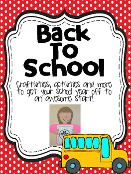 Rock on First-ies! {Back to school activities for Primary grades}