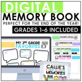 Digital End of the Year Memory Book | Google Slides