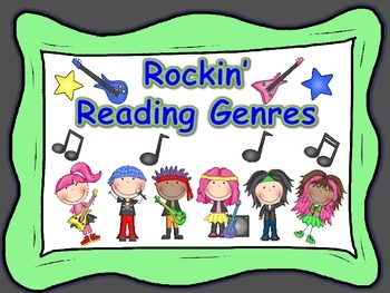 Rock star Reading Genre Posters