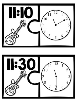 Rock the Clock {Common Core Aligned Time Practice}