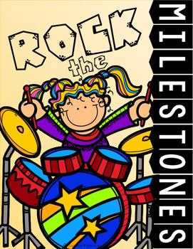 Rock The Milestones Testing Motivational Posters