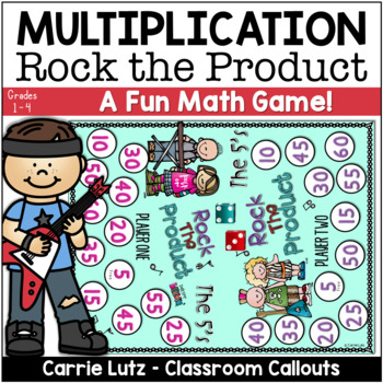 Multiplication Practice Game - Rock the Product