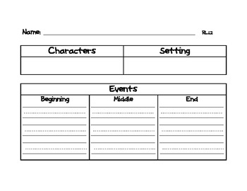 Rock the Reading Common Core Graphic Organizers