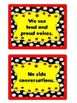 Rock the Rug! Rules for Meeting on the Carpet (Red, Black, Yellow Colors)