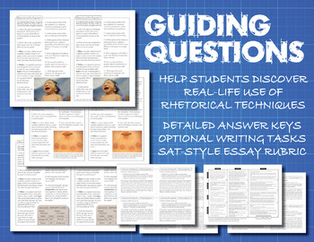 SAT Essay Prep BUNDLE, Deconstruct the Argument, Rhetorical Tools ...
