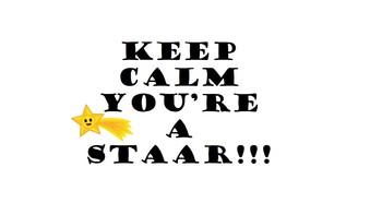 Rock the STAAR!  Poster