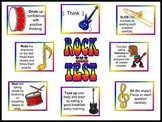 Rock the Test Bulletin Board Kit-Test Taking Tips for Test Prep