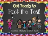 Rock the Test Classroom Decorations