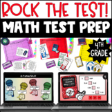 "4th Grade Test Prep Math Centers   ""Rock the Test"" Test Prep Centers 4th Grade"