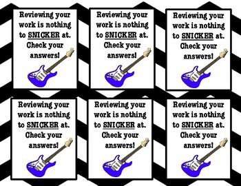 Rock the Test Motivators