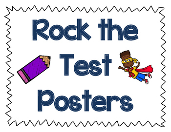 Rock the Test Posters!