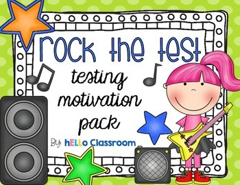 Rock the Test!  - Testing Motivation Pack