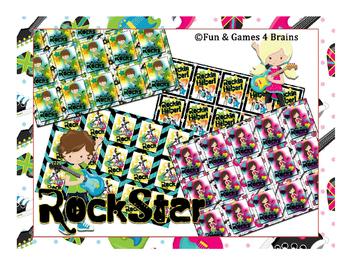 RockStar Brag Tags! Colorfu,l fun, and easy incentive