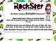 RockStar themed EDITABLE bulletin board banner
