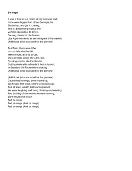 Rockefeller, Carnegie Gilded Age Song to Eric Church's Talladega Parody