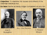 Rockefeller, Morgan and Standard Oil PowerPoint Presentation