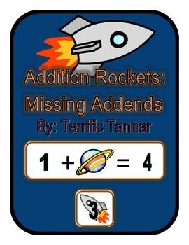 Rocket Addition Missing Addends