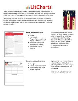 Rocket Boys – Comprehension and Analysis Bundle