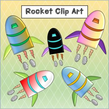 Rocket Clip Art