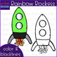 Rocket Clip Art - Rainbow Rocket clipart {jen hart Clip Art}