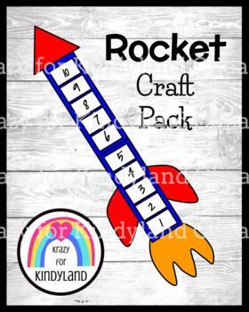 Rocket Craft:  Counting Backwards