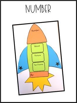 Rocket Craftivity