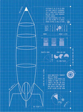 Rocket Design Student Planning Packet (Editable)