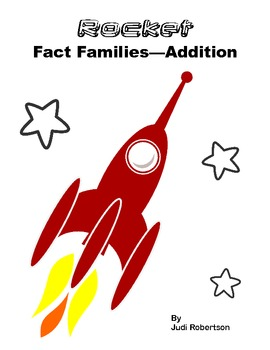 Rocket Fact Families - Addition version
