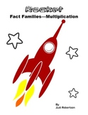Rocket Fact Families  - Multiplication