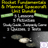 Rocket Fundamentals & Manned Spacecraft Unit Bundle : NO PREP!