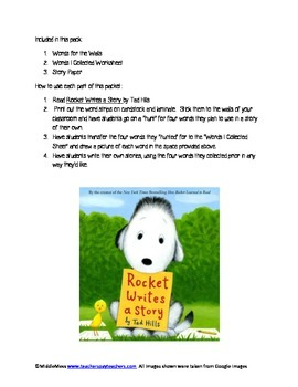 Rocket Learns to Read Activity Pack