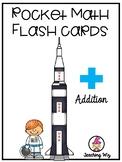 Rocket Math: Addition Flash Cards